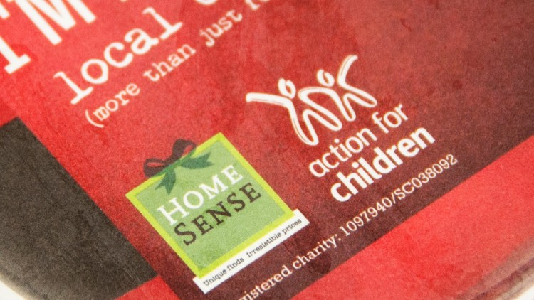 """""""Hang a Bauble"""" Campaign by HomeSense UK in Association with Action for Children"""