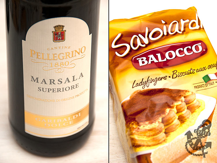 what is Marsala wine Savoiardi lady fingers and how do I make tiramisu?