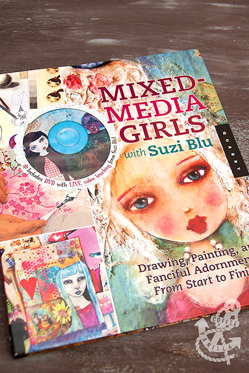 mixed media techniques book for teenagers