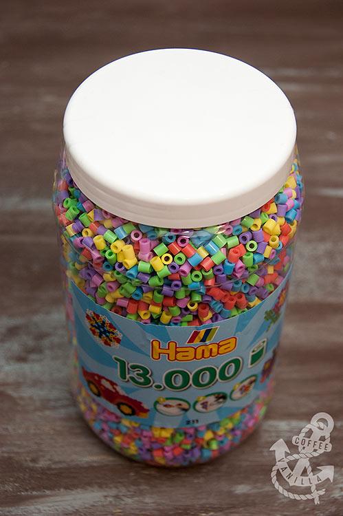 Hama pastel midi beads