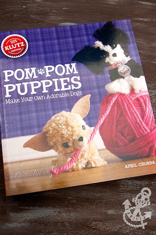 pom pom creatures book with pom pom makers