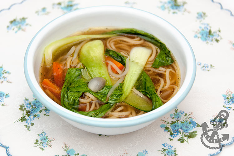 bok choy noodle soup recipe