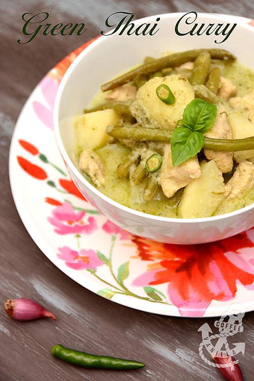 green thai curry chicken recipe easy