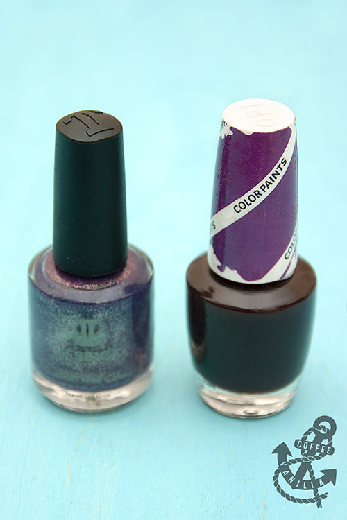 non toxic nail varnishes from Jessica and OPI
