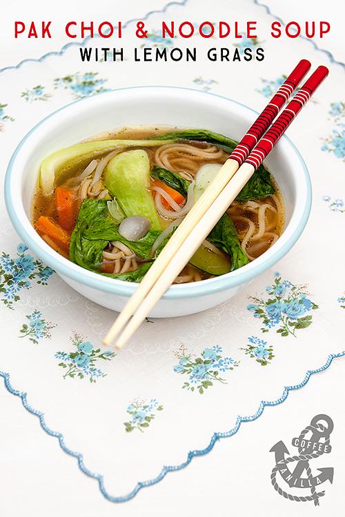 pak choi noodle soup recipe