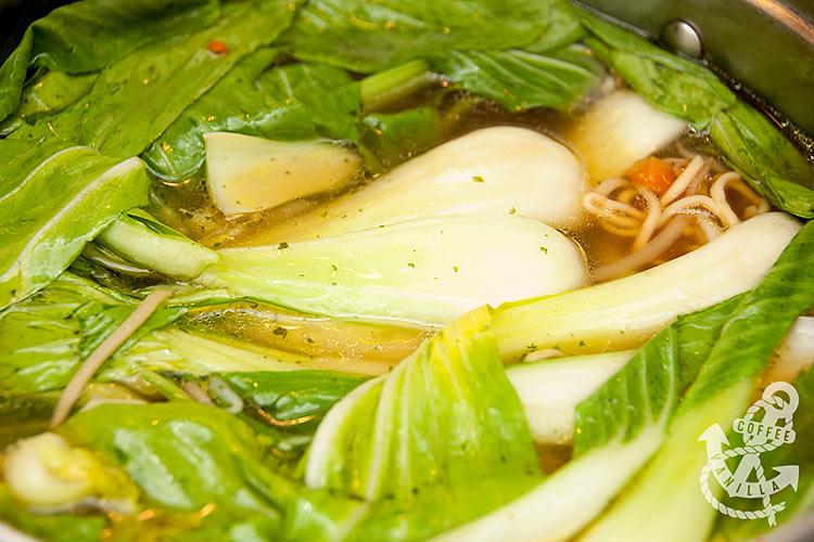 chinese pak choi soup