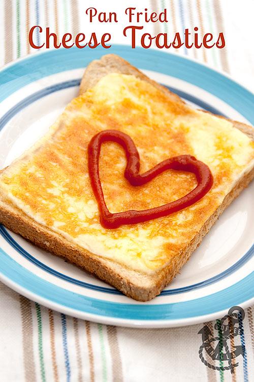 easy toasties recipe