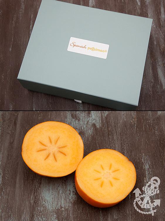 Rojo Brillante variety of persimmons persimon sharon fruit