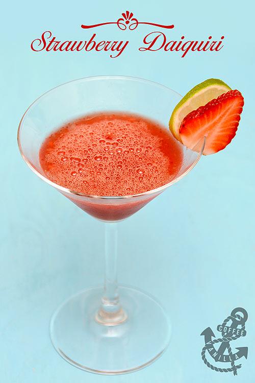 best strawberry daiquiri cocktail recipe