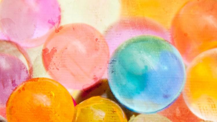 Water Beads Fun – Sensory Play for Kids