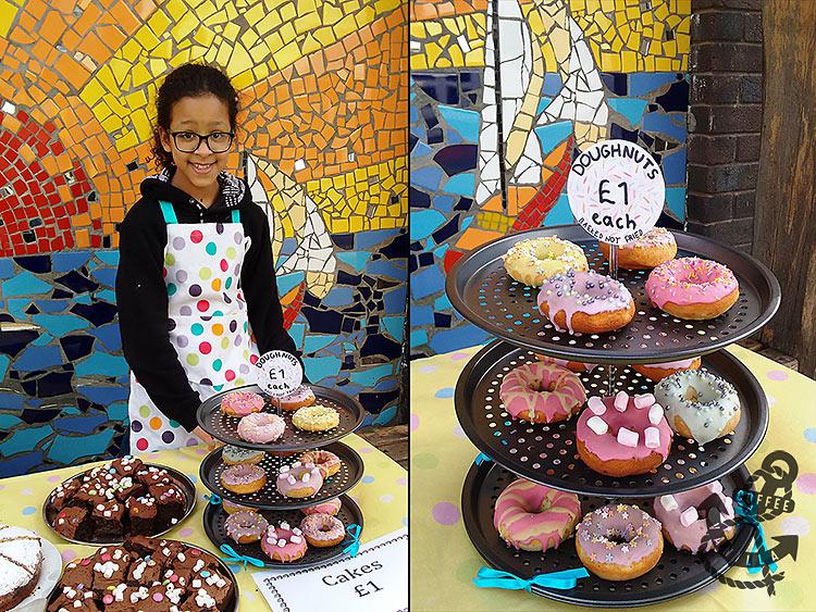 school bake sale display ideas