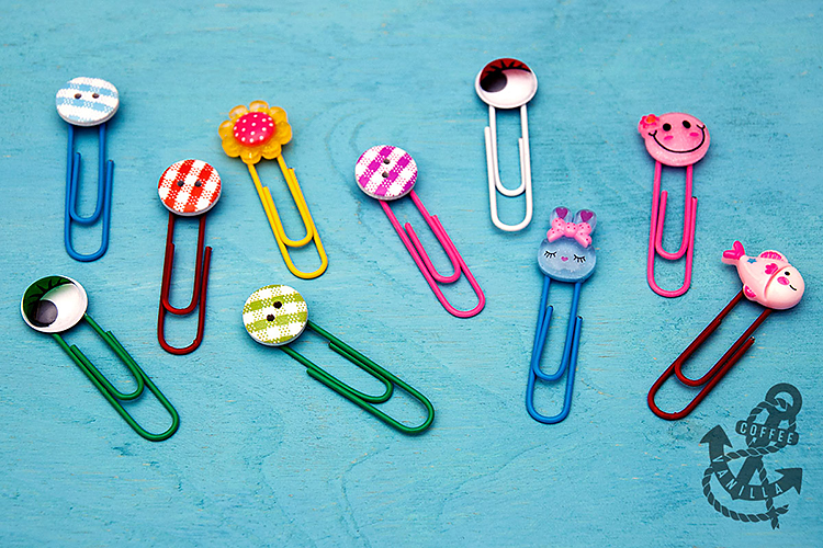 how to make decorative paper clips