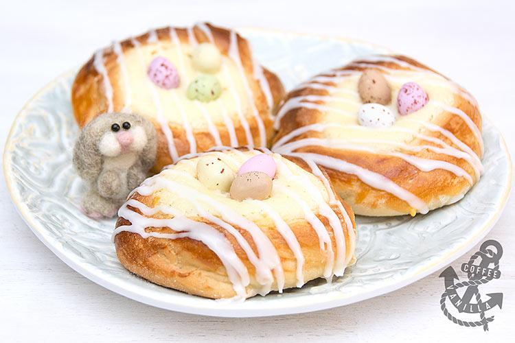 polish cottage cheese buns