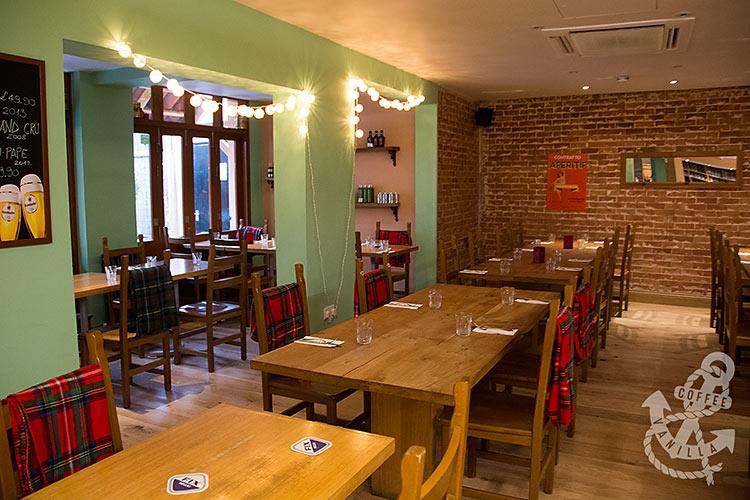 restaurant near seafront Brighton