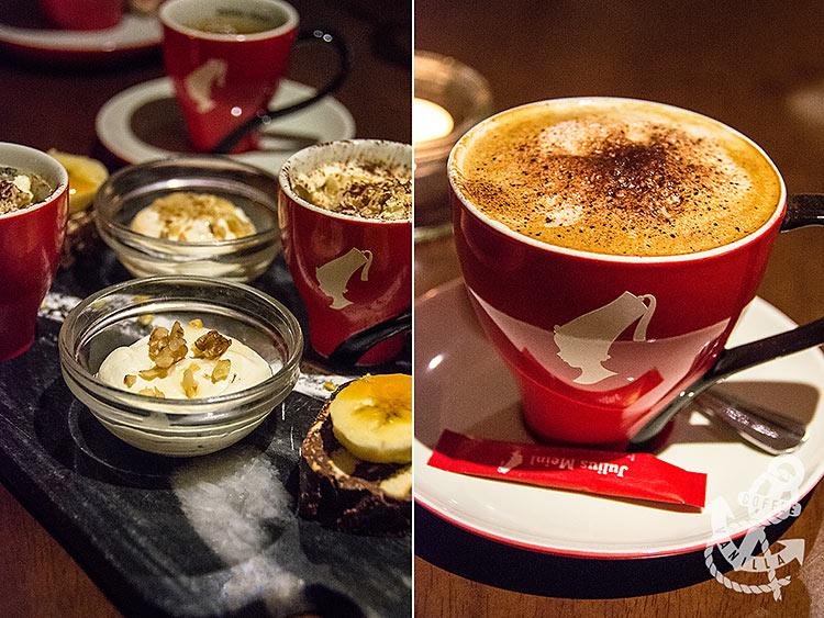 coffee and Mediterranean desserts in Brighton