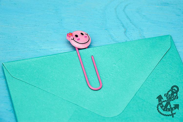decorative paper clips scrapbooking