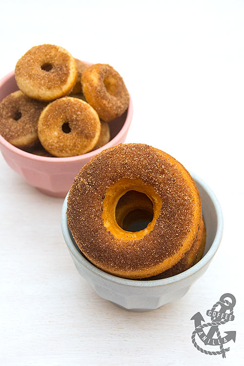 cinnamon doughnut recipe without yeast