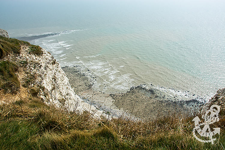 beautiful chalk cliffs in the UK