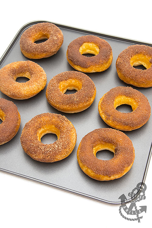 how to make cinnamon donuts