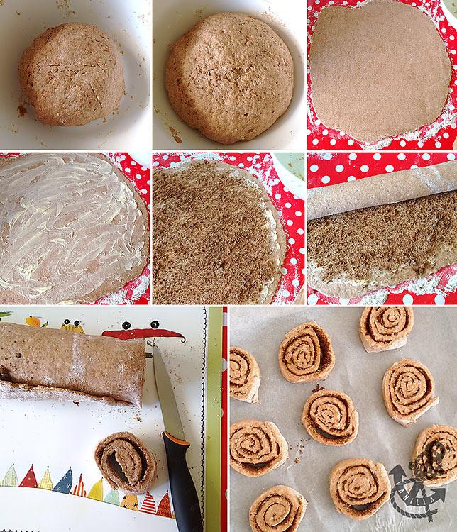 cinnamon swirls step by step