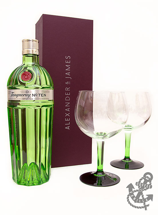 Tanqueray gin gift set from Alexander & James