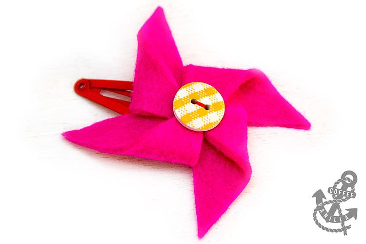 handmade hair clips for kids