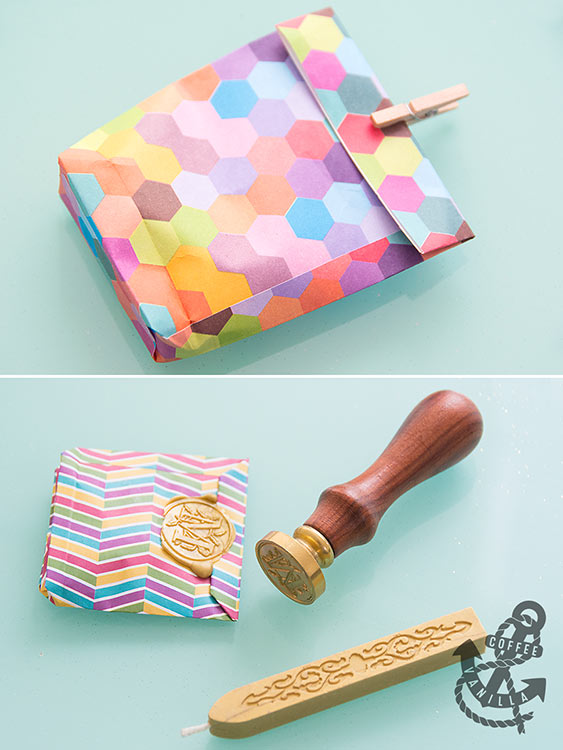 how to fold a paper bag for gift