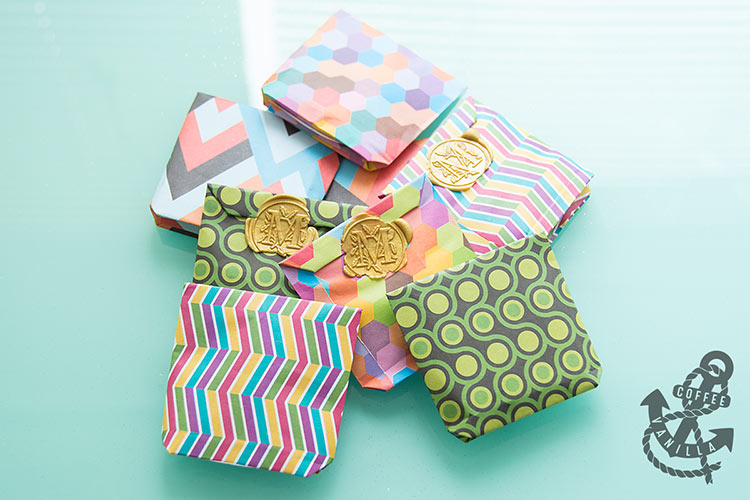 how to make a gift bag out of paper