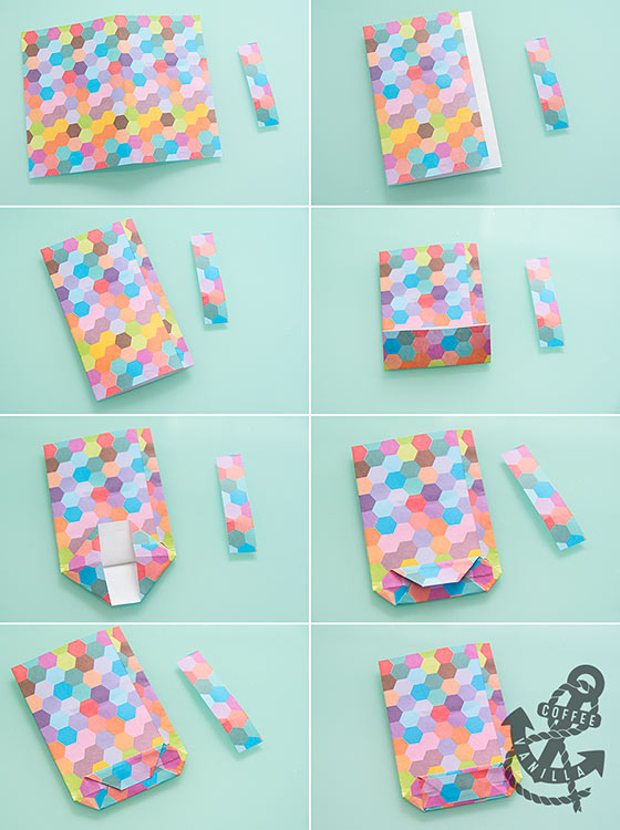 how to make paper bag for gift