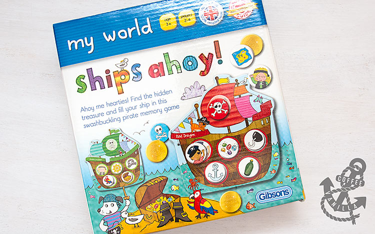 ship pirate board game for kids