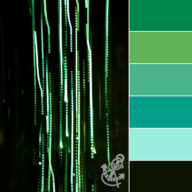 home office colour palettes