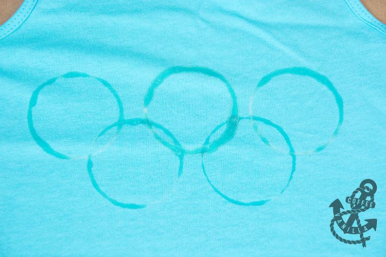 Olympic logo DIY shirt