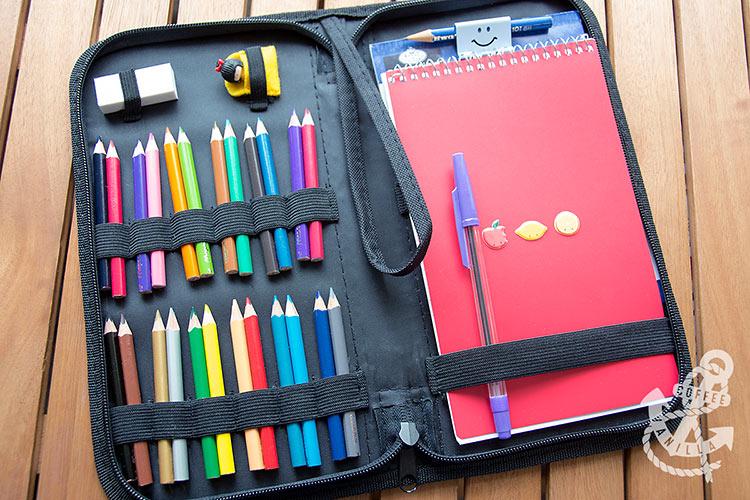 summer holiday drawing case art set for children