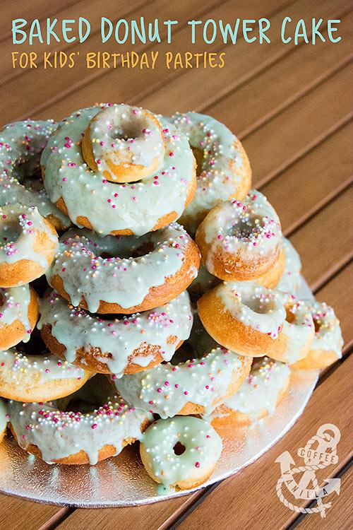 donut tower cake doughnut tower cake