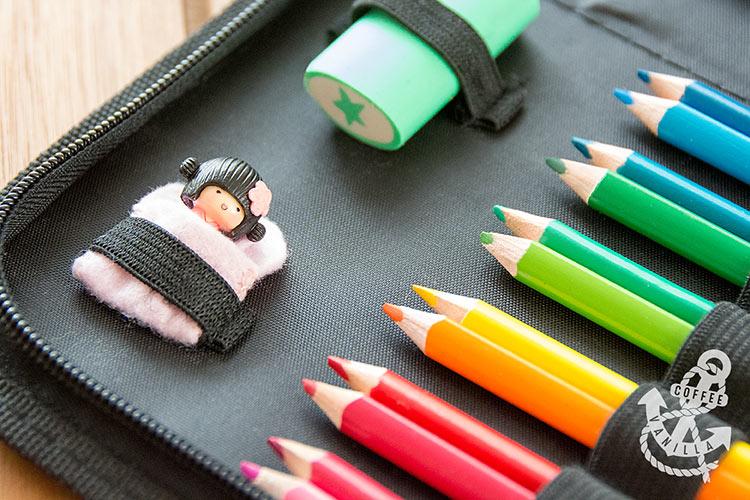 summer holidays art carry case for kids