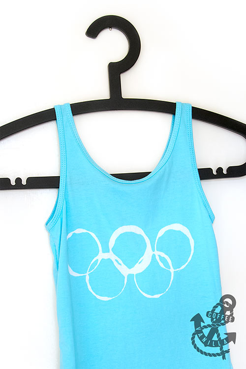 Olympic shirt for kids diy project handmade pattern