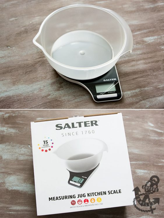 Salter measuring jug kitchen scale