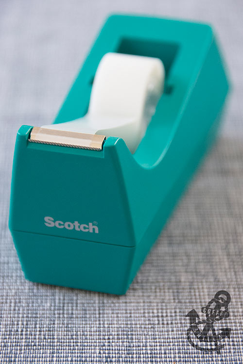 clear tape and tape dispenser from Scotch