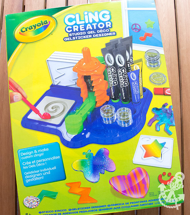 window cling making set from Crayola
