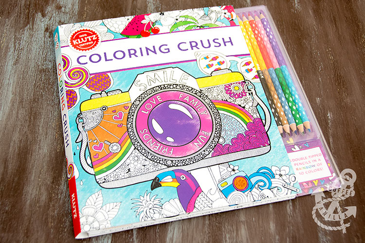 colouring book for teenagers from Klutz