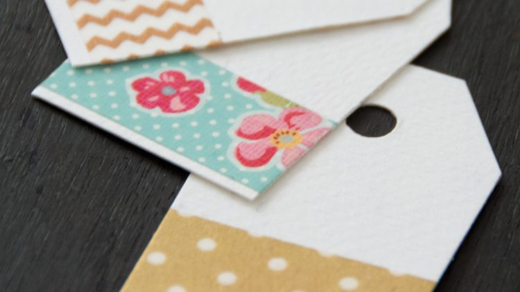 Washi Tape Gift Tags for Any Occasion