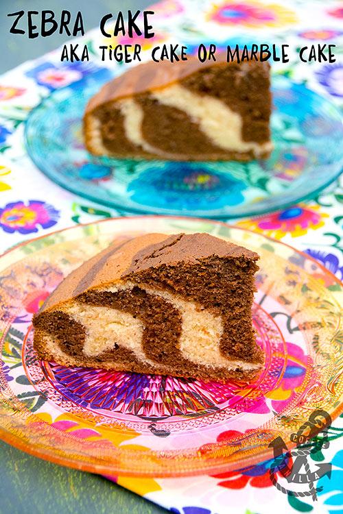 Polish zebra cake recipe