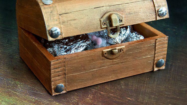 DIY Countdown Calendar – Fossil & Gemstone Pirate Treasure Chest