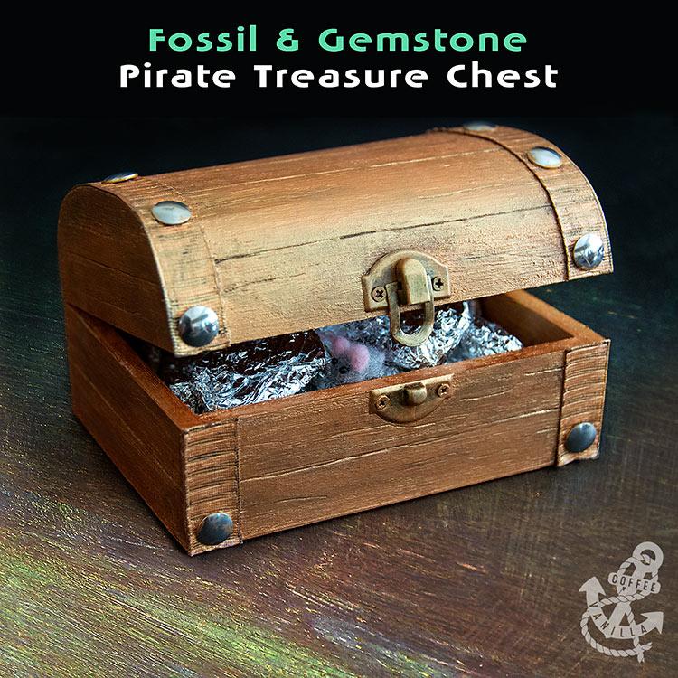 pirate treasure chest Christmas calendar countdown boys kids girls children