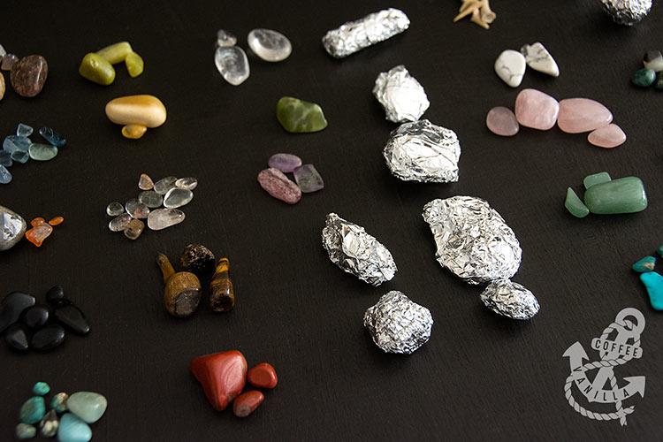 gemstones and fossils countdown calendar