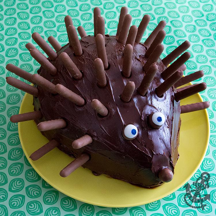 hedgehog cake recipe