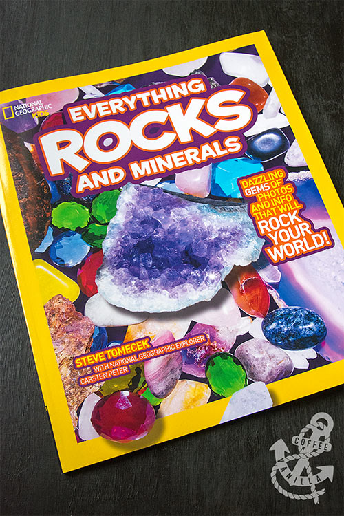 book about rocks and minerals for kids