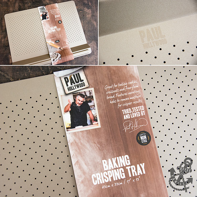 baking tray recommended by Paul Hollywood
