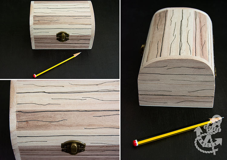 easy DIY pirate chest tutorial