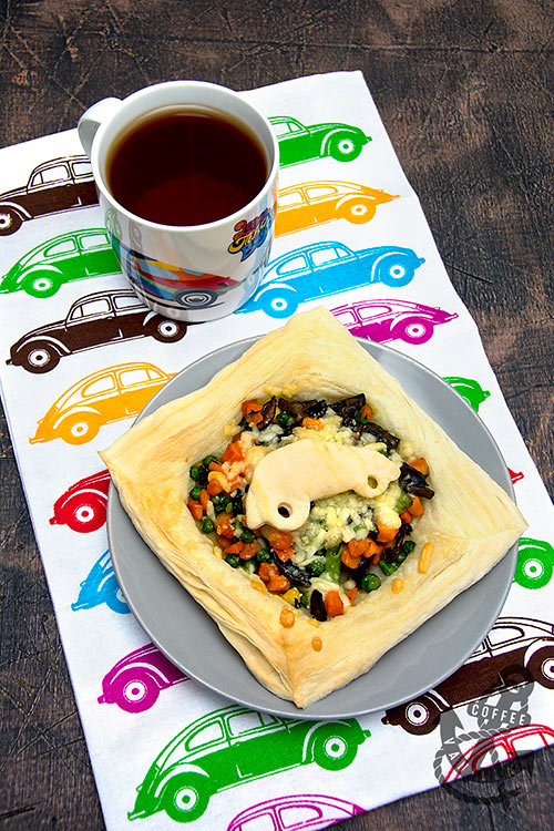 easy veggie pastry recipe